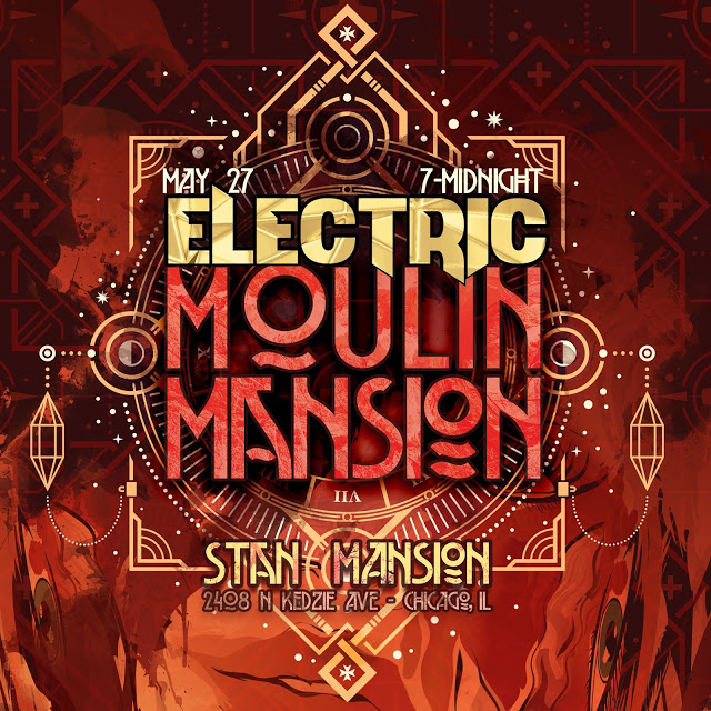 Electric Moulin Mansion Social Media Icon